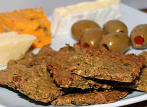 Rosemary gluten-free crackers