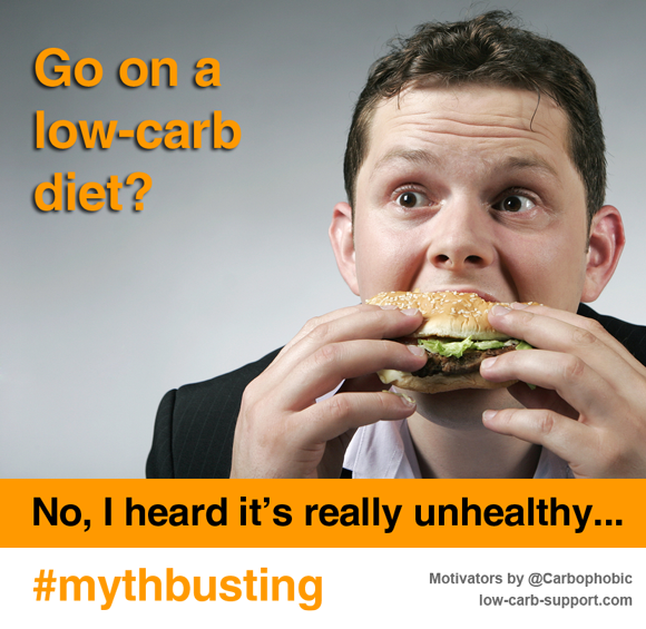 Low carb diets - mythbusting
