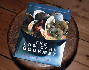 Book cover - The Low Carb Gourmet