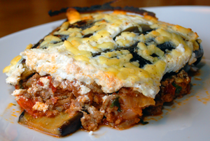 Greek moussaka - low carb recipe