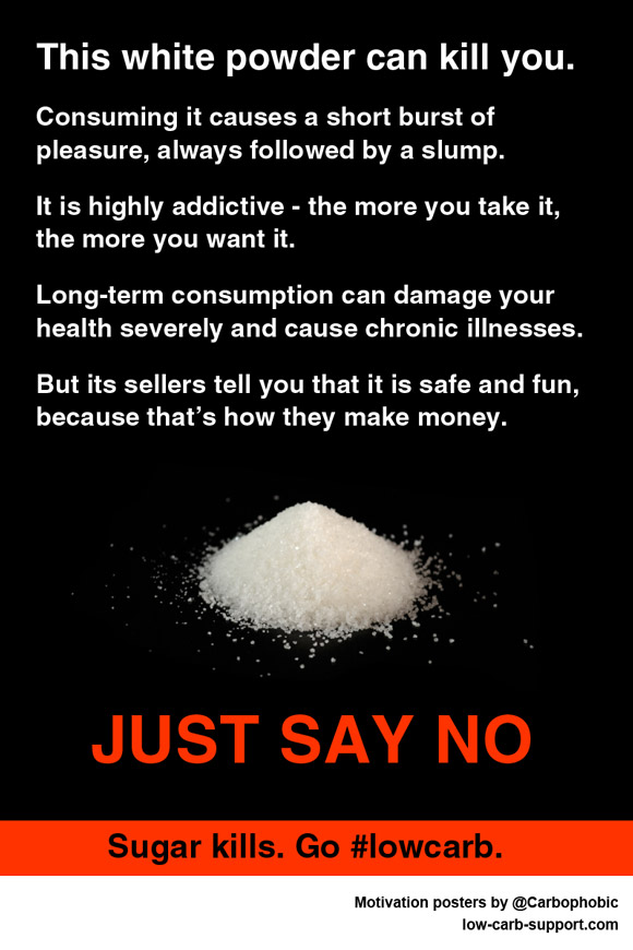 Sugar Kills - Go Low Carb