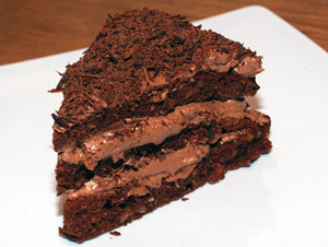 Lowcarb chocolate cake recipe