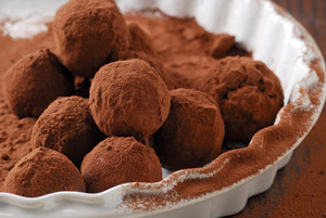 Lowcarb chocolate truffles
