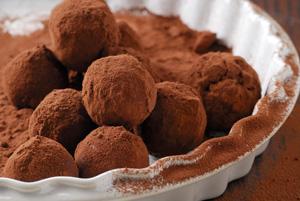 Lowcarb chocolate truffles