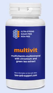 Atkins diet vitamins basic 3