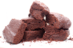Low-carb gluten-free brownies