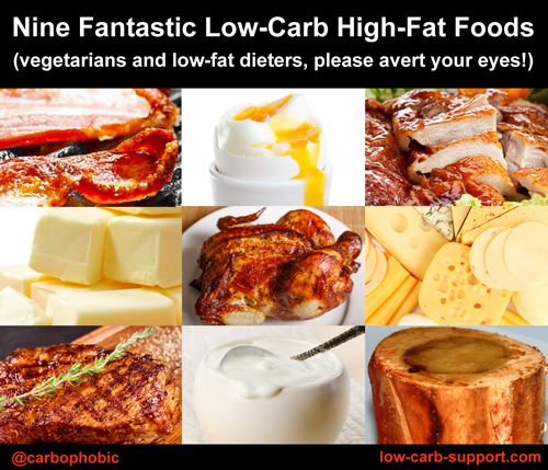 Best foods for keto and LCHF