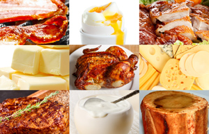 Low carb high fat foods