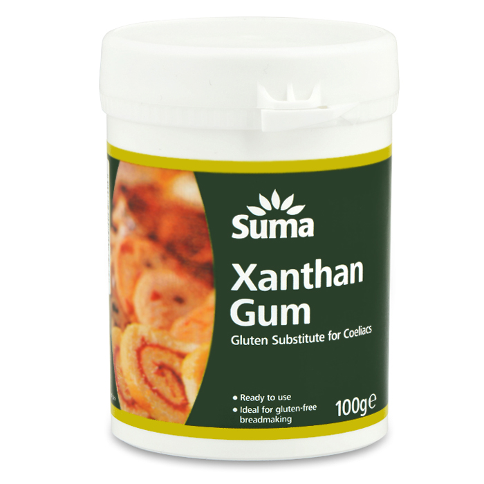 Xanthan gum 100g for Atkins cuisine baking mix substitute