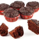 Low-carb gluten-free sugar-free choc muffins - low-carb recipe