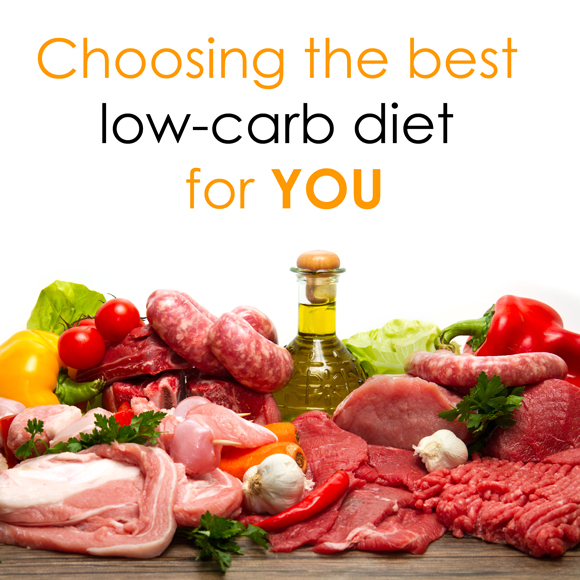 Choosing the best low-carb diet for you