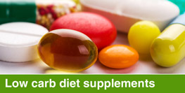 Low-carb diet supplements