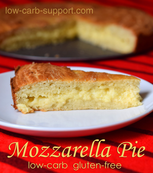 Low-carb cheese pie