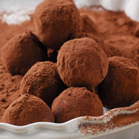 Low-carb truffles