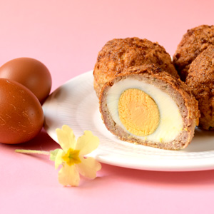 Low-Carb Scotch Eggs - perfect low-carb breakfast