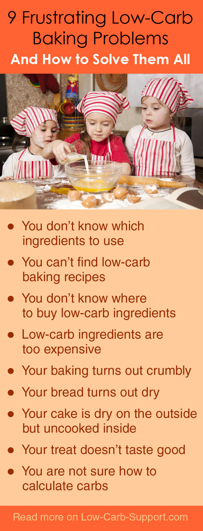 9 Low Carb Baking Problems and How To Solve Them