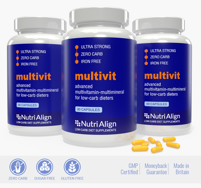 Low-Carb Diet Multivitamins