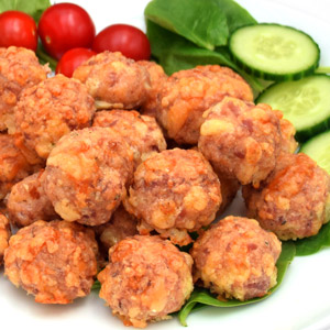 Low Carb Breakfast Sausage Balls