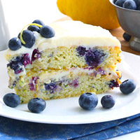 Low-Carb Zucchini Recipe - Blueberry Zucchini Cake