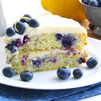 Low-Carb Zucchini Recipe - Blueberry Zucchini Cake