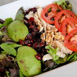 Low-carb salad Pret