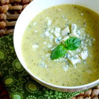 Low-Carb Zucchini Recipe -  Cream of Zucchini Soup