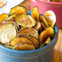 Low-Carb Zucchini Recipe - Zucchini Chips