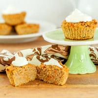 Low-Carb Zucchini Recipe - Carrot Cake Zucchini Muffins