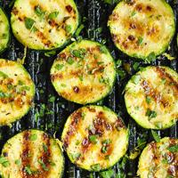Low-Carb Zucchini Recipe - Grilled Lemon Garlic Zucchini