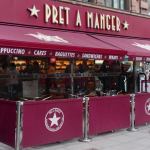 Low-carb Food at Pret-A-Manger