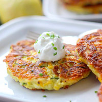 Low-Carb Zucchini Recipe - The Easiest Zucchini Fritters