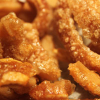 pork-scratchings