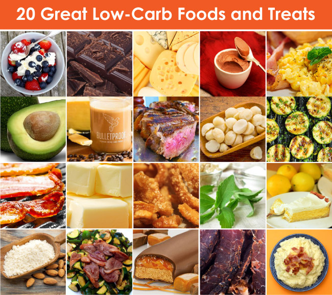 Great low-carb foods and treats