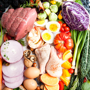 Low-carb food substitutes