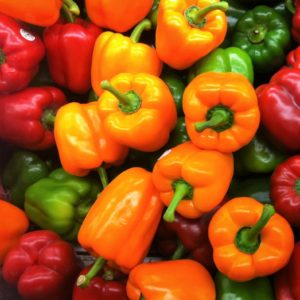 Low-carb vitamin c - bell peppers