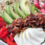 Quick low-carb dinner - Cobb salad