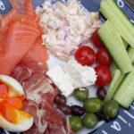 low-carb dinner platter