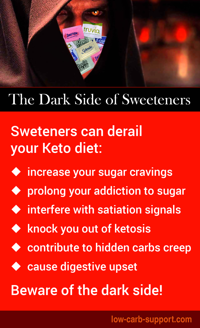 The dark side of sweeteners